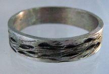 Men's Wedding Bands. Alternative Rings / Alternative wedding bands / rings for men by Emily Wiser Jewelry www.emilywiser.com