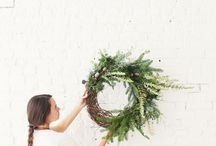 Christmas / Wreaths. Decorations. Craft. Recipes.