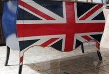 Flag national paint furniture - union jack