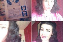 Pin curls / by Melanie Boyer