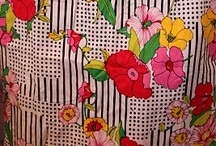 Ideas for my retro dress / This board is for my design of a retro dress. I'm using a vintage skirt as baseline and are going to make a new top. Here I will collect ideas for this project. Since we rigth now have a snowstorm outside - and I'm soo tired of winter, I have to dream about a spring related project :-)