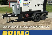 Generator Rentals / At PRIMA Power Systems we Rent - Sell - Lease Generators