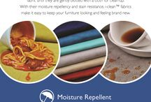 i-clean by Culp Contract / Pictures showcasing the stain resistant properties of Culp Contract's i-clean finish