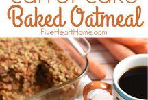 carrot cake /oatmeal