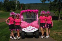 Golf Cart Decorations / Fun ways to decorate your golf cart, for parades, special events or just for fun!!!