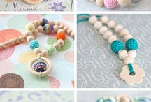 Crochet teething accessories / Anything crochet for teething babies!