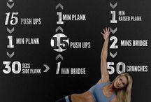 Tummy tighten exercises