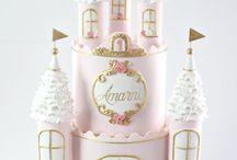 girl/princess cake