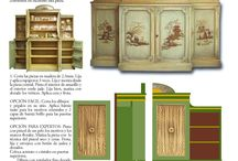 Paper Doll Houses and Furniture