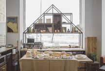 """POP UP """"ENTRE TABLAS, LOOK AND CHEESE"""" / #design #popup #cheese #foodies #wood #iron"""