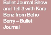 Planner & Bullet Journal Ideas