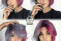 Colorful,  beautiful hair!