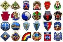 Military emblems