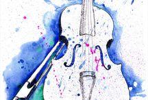 Musique / Instruments, solfège, musiciens...