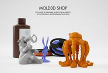 Mold3D Marketplace / Downloadable print files from talented 3D artists. shop.mold3d.com