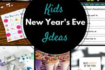 Healthy New Year / Ideas for fun ways for your family to ring in the New Year!