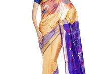 Handloom Sarees by IndusDiva / Our Handloom chapter is a handpicked assortment of some of the most sought after sarees exclusively available on Amazon.