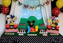 Mesas de dulces diferentes tematicas