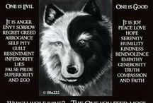 Al's wolf tat