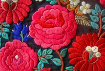 Embroidered inspirations / Beautiful and creative designs ~ embroideries, rugs, whatever pretties I come across to!