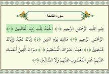 Al-Fatiha / surat pertama dalam Al-Qur'an
