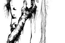 Drawings by Skottie Youngs