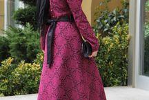 Saraylı Tesettür Elbise - Fuşya / #tesettürelbise #fusya #düğün #Suhneva