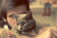Hot guys with animals