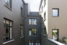 Kleuren buitengevel/colours house facade / Verschillende kleuren voor de buitengevel.