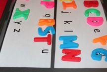 Alphabet Matching Kindergarten