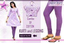 Legging / Buy leggings online,Women's leggings,Leggings online India  http://www.jaipurkurti.com/more/leggings.html