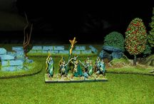 Wargame Scenery - walls, ruins, forest, grove / Scenery I made/make