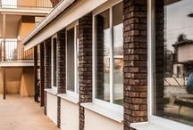 UMBER bricks / UMBER brick slips by Rustique