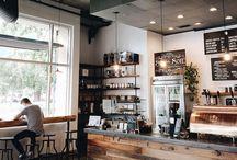Coffee/hookah shop