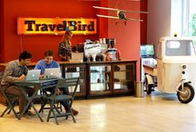 TravelBird Office / Since July 2014 we can call ourselves extremely lucky: TravelBird moved to a beautiful and enormous office space right in the center of Amsterdam along one of the most picturesque canals, the Keizersgracht. As we are constantly growing our office has to evolve as well, so almost every week we see a new project appear that aims at making our office even more awesome. Take a look!