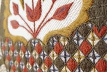 Jacobean/Crewel Embroidery