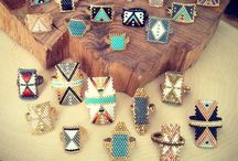 sead beads ring
