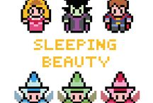 Disney Princess - Aurora / sleeping beauty.