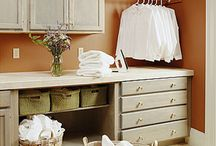 Laundry room ideas / by Chickadee3