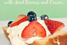 Recipes Desserts Strawberries
