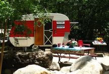 Picnics, Camping, Vintage Trailers