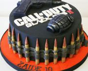 Call of duty cakes