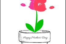Mother's Day art ideas / Mother's Day art