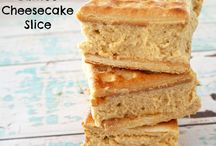 Easy baked cheesecake (lattice biscuits)