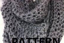 Free Crochet Patterns Infinity Scarves | Crochet Pattern : Women's Infinity Scarf Pattern, Infinity Scarf ... / by Caroline Bitting