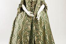 18th century Robe à la française