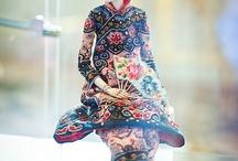 dolls, fairies, illustrations