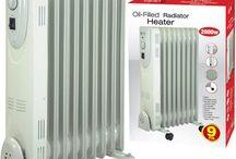 White Electric Heater Portable Energy Economy Home Furniture Christmas Gift Xmas