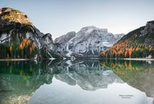 Braies Lake Reflections