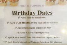 Posh is 10!! / Celebrating ten years in the business!